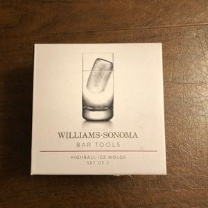 William Sonoma Highball Ice Molds